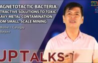 UP TALKS | Magnetotactic Bacteria | Ronie Calugay