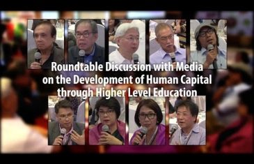 Roundtable Discussion with Media on the Development of Human Capital through Higher Level Education