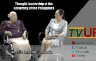 Thought Leadership at the University of the Philippines | Amelia Lapeña-Bonifacio