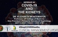 Webinar #4 | Stop COVID Deaths: Clinical Management Updates | COVID-19 and the Kidneys