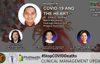 Webinar #8 | Stop COVID Deaths: Clinical Management Updates | COVID-19 and the Heart