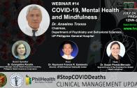 Webinar #14 | COVID-19, Mental Health and Mindfulness