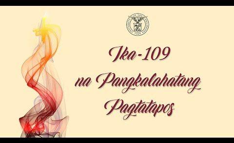 UPD Graduation 2020: Ika-109 Pangkalahatang Pagtatapos ng UP Diliman