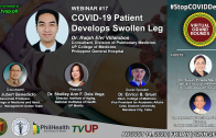 Webinar #17 | STOP COVID DEATHS: VIRTUAL GRAND ROUNDS | COVID-19 Patient Develops Swollen Leg
