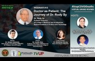 Webinar #15 | VIRTUAL GRAND ROUNDS 1 | Doctor as Patient: The Journey