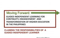 MOVING FORWARD   GUIDED INDEPENDENT LEARNING FOR CONTINUITY
