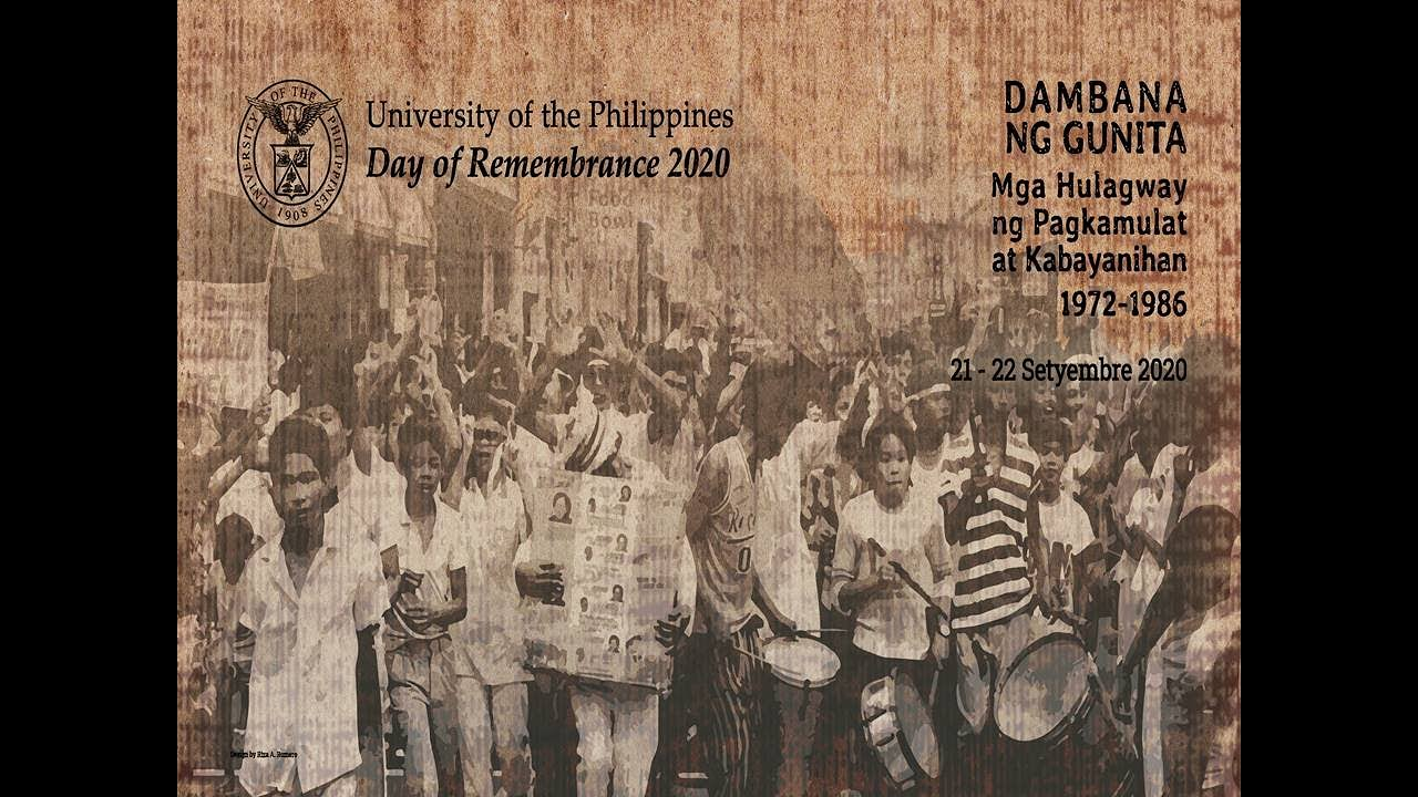 UP Day of Remembrance 2020 (Day 1)