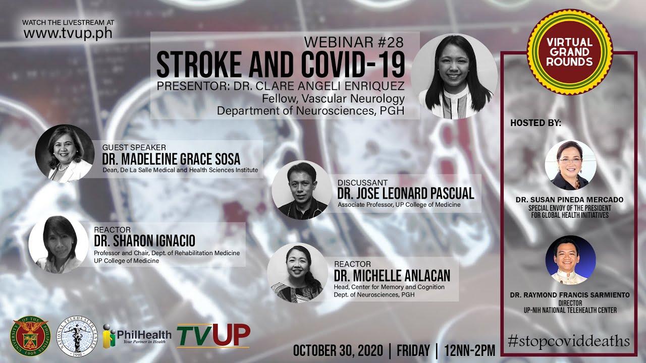 "Webinar #28 | ""Stroke and COVID-19"""