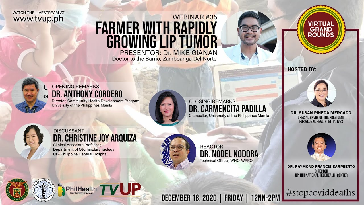 "Webinar #35 | ""Farmer with Rapidly Growing Lip Tumor"""