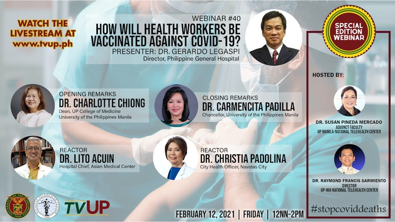 "Webinar #38 | ""Are the COVID-19 Vaccines Safe?"""
