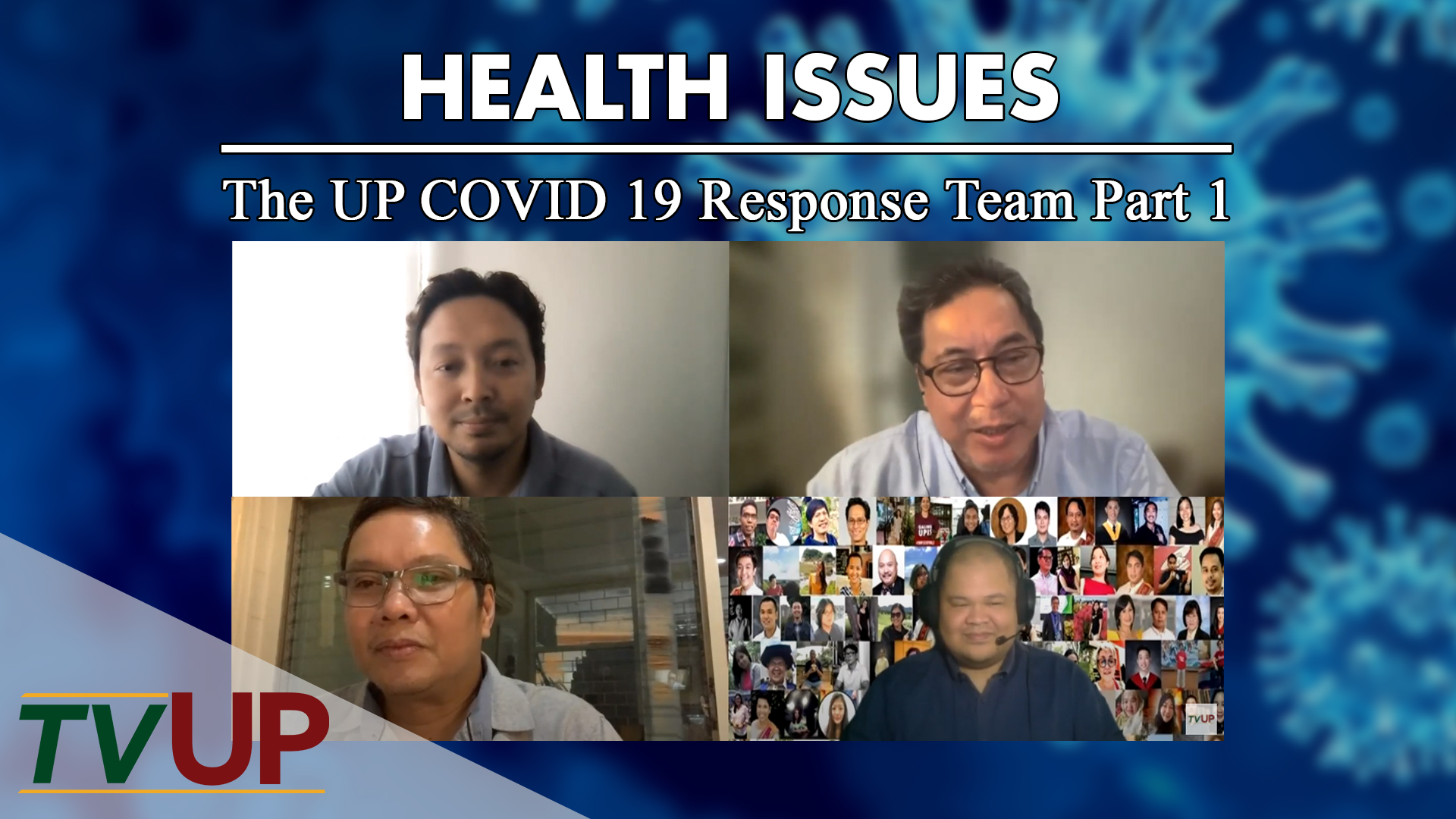 Health Issues Thumbnail The UP COVID 19 Response Team Part 1