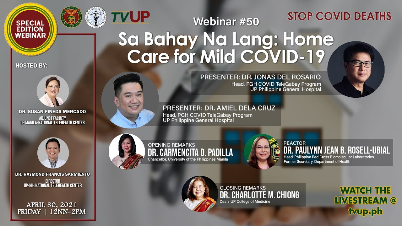 "Webinar #49 | ""COVID-19 Frontliners: Kamusta Na Kayo?"""