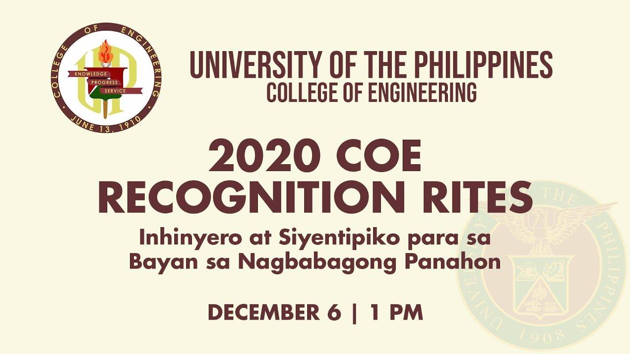 2020 COE RECOGNITION RITES