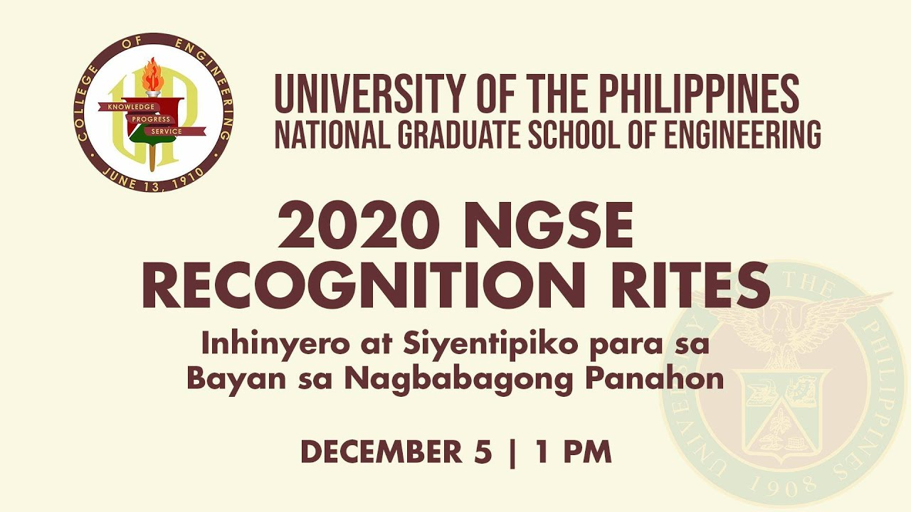 2020 NGSE RECOGNITION RITES