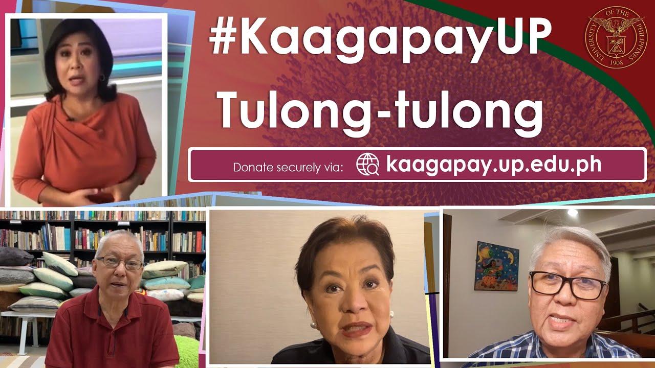#KaagapayUP Tulong-tulong | Kaagapay sa Pag-aaral ng Iskolar ng Bayan