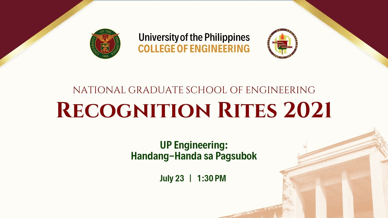 National Graduate School of Engineering Recognition Rites 2021